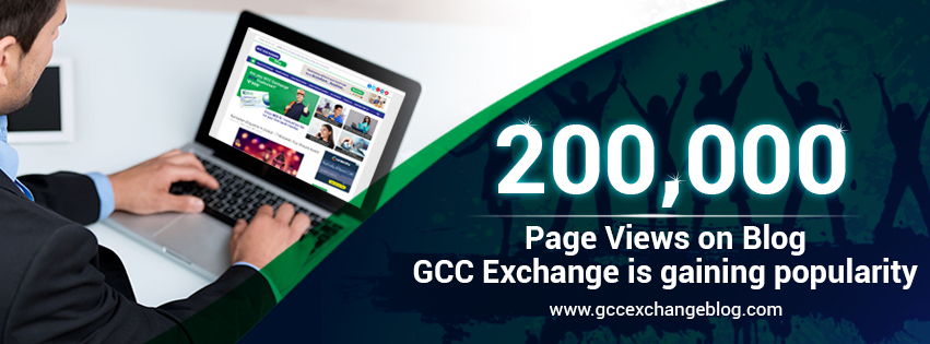 200,000 Page Views on Blog � GCC Exchange is gaining popularity